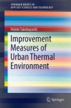 Takebayashi, Hideki Improvement Measures of Urban Thermal Environment