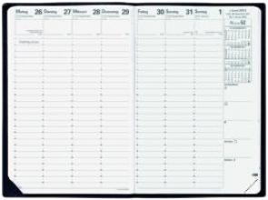 H 24/24 VZ Impala schwarz 2018 Tisch-Kalender