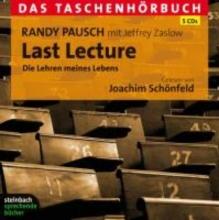Pausch, Randy Last Lecture - Das Taschenhrbuch