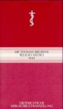 Browne, Thomas Religio Medici