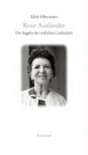 Silbermann, Edith Rose Auslnder - Die Sappho der stlichen Landschaft