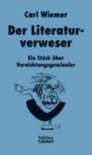 Wiemer, Carl Der Literaturverweser