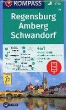 , Regensburg, Amberg, Schwandorf 1:50 000