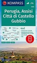 , KOMPASS Wanderkarte 2464 Perugia, Assisi