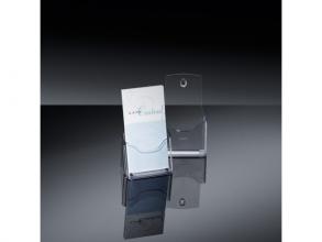 , folderhouder Sigel tafelmodel DIN lang transparant acryl 1  vak