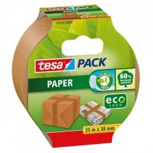 , Verpakkingstape Tesa 05054 eco papier 38mmx25m bruin