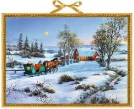 Nordische Weihnachten Wandkalender