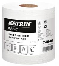 , Handdoekrol Katrin 74540 Centerfeed M 1laags 19cmx259m
