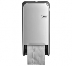 , Dispenser Euro Quartz toiletrolhouder doprol wit