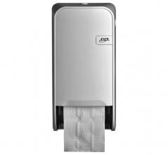 , Dispenser Euro Quartz toiletrolhouder doprol wit