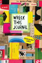 Keri  Smith Wreck this journal- jubileumeditie