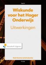Gooitzen Zwanenburg Sieb Kemme  Theo van Pelt  Wim Groen  Jacques Timmers, Wiskunde voor het hoger onderwijs Deel B Uitwerkingen