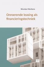 Nicolas Mertens , Onroerende leasing als financieringstechniek