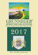 Fré  Schreiber Grunneger spreukenklender 2017