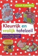 Sarah  Kolenberg Kleurrijk en vrolijk tafelzeil