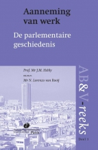 J.M. Hebly , Aanneming van werk, parlementaire geschiedenis