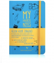 Thomas  Beekman My favorite notes Alleen voor jongens