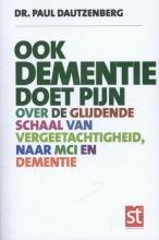 Paul  Dautzenberg , Ook dementie doet pijn