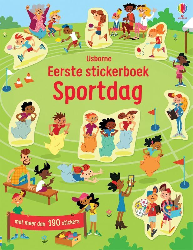 ,Sportdag Eerste stickerboek