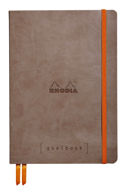 ,Bullet Journal Rhodia A5 60vel dots taupe