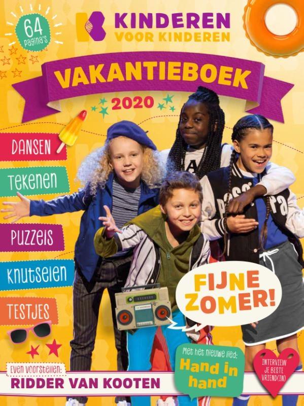 ,Kinderen voor Kinderen vakantieboek 2020