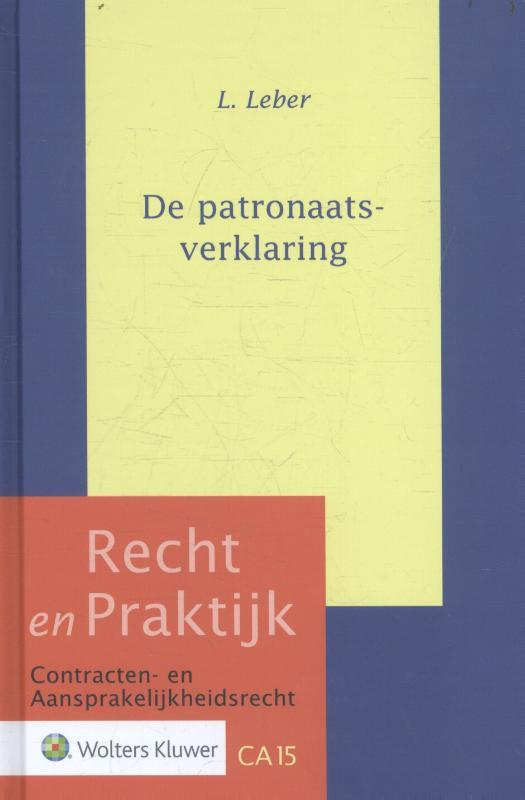 L. Leber,De patronaatsverklaring