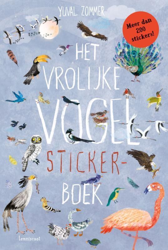 Yuval Zommer,Het vrolijke vogel stickerboek