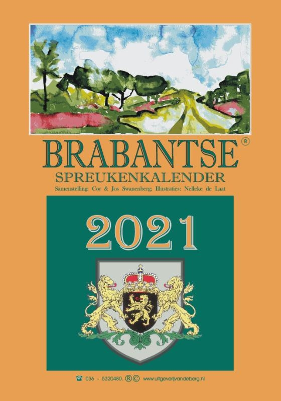 Cor & Jos Swanenberg,Brabantse spreukenkalender 2021
