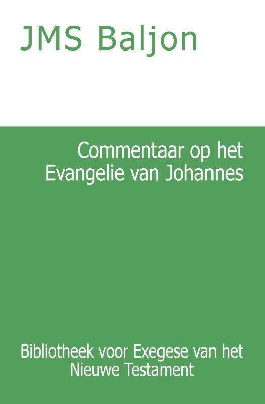 J.M.S. Baljon,Commentaar op het Evangelie van Johannes