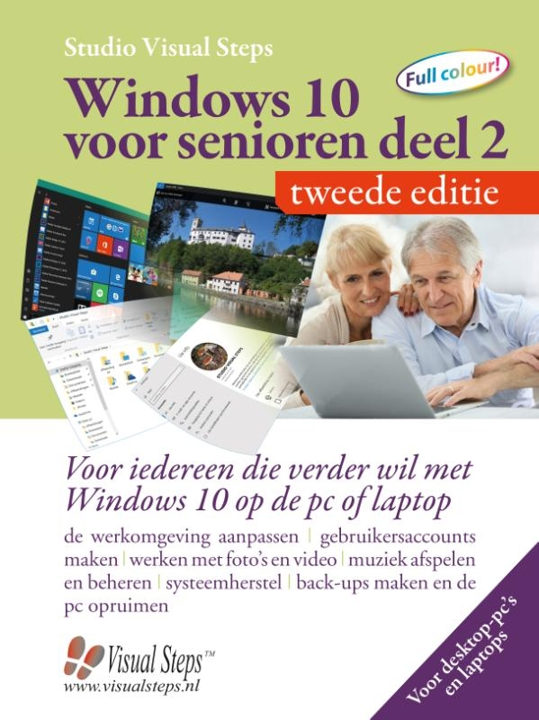 Studio Visual Steps,Windows 10 voor senioren deel 2