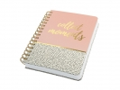 ,<b>Notitieboek Sigel Jolie A5 spiraal Sweet Dots</b>
