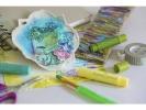 <b>WK39/16Gelatos aquarelkrijt FCgeschenkset 28 kleuren incl.                                accessoires</b>,