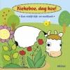 <b>Kiekeboe, dag koe !</b>,een vrolijk kijk- en voelboek