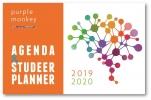 <b>John  Cliteur</b>,Purple Monkey Agenda en Studeerplanner 2019-2020