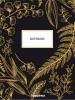 ,<b>Happinez - Botanical notebook zwart</b>