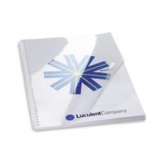 , Voorblad GBC A4 PVC 300micron transparant 100stuks