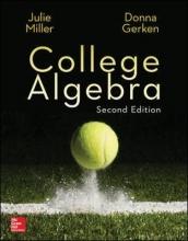 Julie Miller,   Donna Gerken College Algebra