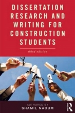 Naoum, SG Dissertation Research and Writing for Construction Students
