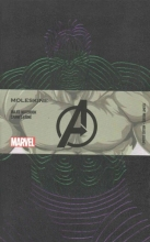 Moleskine the Avengers Limited Edition Notebook, Large, Ruled, Black, Hulk