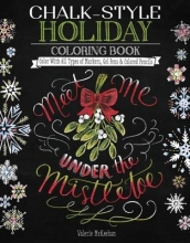 Valerie McKeehan Chalk-Style Holiday Coloring Book