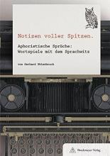 Uhlenbruck, , Gerhard NOTIZEN VOLLER SPITZEN