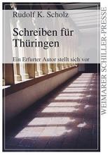 Scholz, Rudolf K. Schreiben für Thüringen