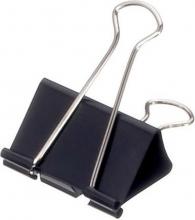 , Papierklem MAUL 215 Foldback 51mm capaciteit 25mm zwart