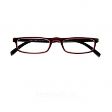 G31300 2.0 , I need you leesbril half-line rood/zwart 2.00