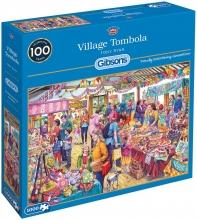 Gib-g6254 , Puzzel gibsons village tombola - tony ryan - 1000 stukjes
