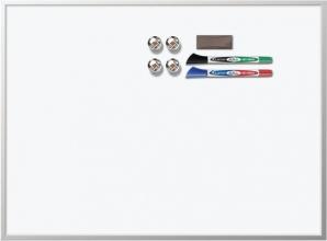 Whiteboard Rexel 58.5x43cm aluminium magnetisch