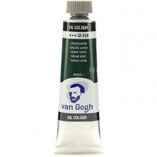 , Talens van gogh olieverf tube  20 ml groene aarde 629