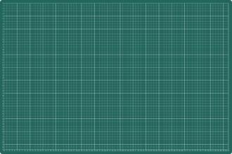 , Snijmat A1 900X600mm groen