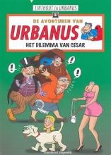 Willy  Linthout De avonturen van Urbanus Urbanus 137 Het dilemma van Cesar