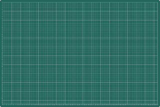 ,Snijmat rillstab 600x900mm a1 3-laags groen